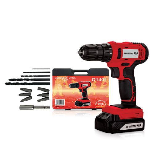 """Cordless Drill - 20V - 3/8"""", by Grip Tight Tools®"""
