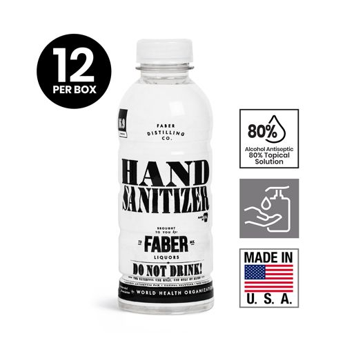 16/16.90 OZ Liquid Hand Sanitizers Refill - Plastic Bottle - Liqueur Odor, by Grip Tight Tools®